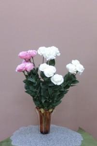 岩田ガラスシリーズ【58】あめ色の花瓶02