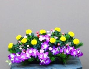 【アレンジメント】年賀の華「壺花」小松