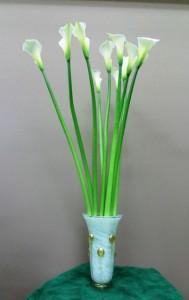 岩田ガラスシリーズ【47】金箔・流れ星入りの花瓶02