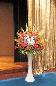 【スタンド花】受賞祝賀会のお祝いに