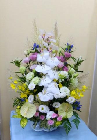 【アレンジメント】隣組のお供え花