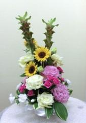 サイン会の花