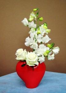 【アレンジメント】フラワーバレンタインに心のこもったプレゼント