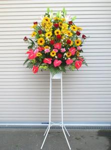 【スタンド花】ダンス発表会のお祝いに01