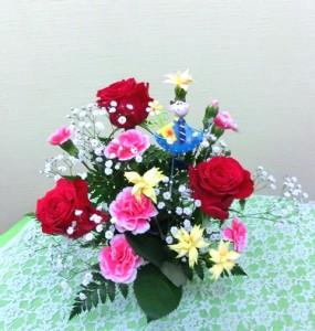 【アレンジメント】母の日に「ありがとうのプレゼント」02-3