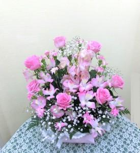 【アレンジメント】卒業式のお祝いにプレゼント01