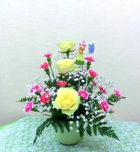 【アレンジメント】母の日に「ありがとうのプレゼント」02-1