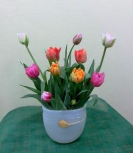 岩田ガラスシリーズ【48】金箔・流れ星入りの花瓶-その2-02