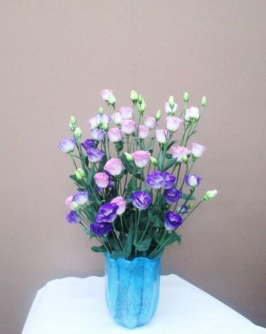 岩田ガラスシリーズ【72】透き通るほどの美しさを持ったブルーの器02