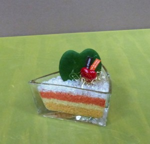 【フラワーバレンタイン】ハートのケーキ02