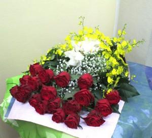 【花束】喜寿のお祝いに