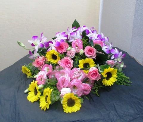 【花束】カラオケ大会のプレゼントに01