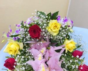 【花束】還暦祝いの花束02