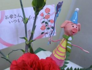 【アレンジメント】母の日ギフトに小さなアレンジを可愛らしくプレゼント♪02