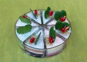 【フラワーバレンタイン】ハートのケーキ01